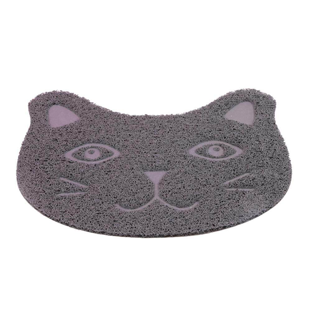 huohu Cute PVC Pet Dog Cat Feeding Mat Pad Pet Dish Bowl (No Included )Food Water Feed Placemat Puppy Bed Blanket Table Mat Easy Wipe Cleaning - intl