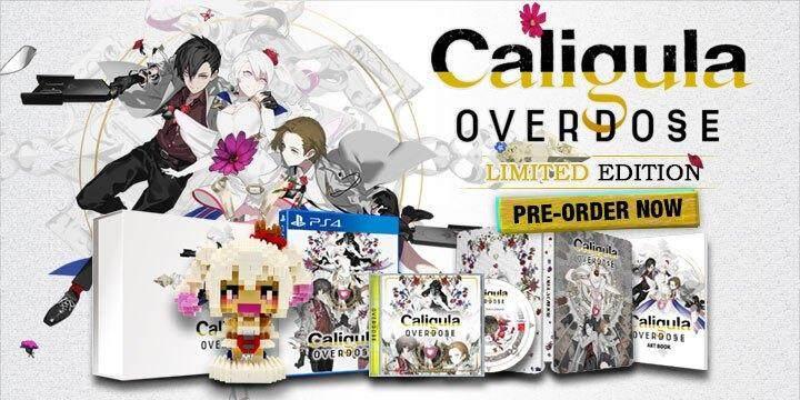 CALIGULA: OVERDOSE Limited Edition (R3) - PlayStation 4