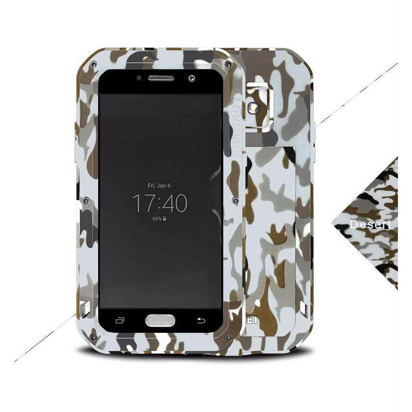 CINTA MEI Casing Logam untuk Samsung Galaxy A5 2017 A520 A520F Penutup Aluminium Armor Tahan Guncangan Tahan Air Case-Intl