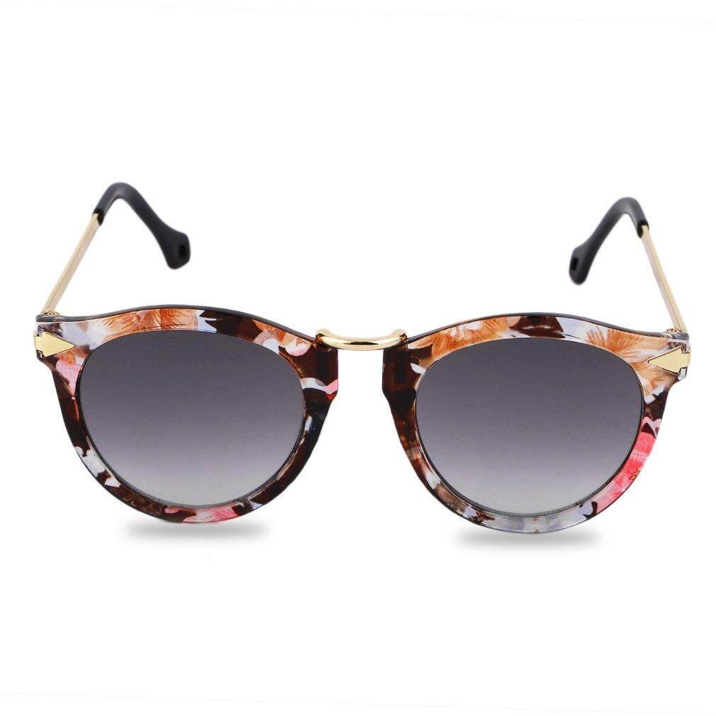 Dapatkan Segera Kacamata Hitam Panah Gaya Kacamata Bulat Kacamata Hitam Bingkai Logam Aneka Warna