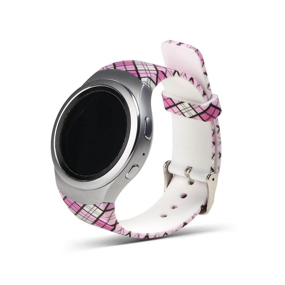 nagostore Luxury Silicone Watch Band Strap For Galaxy Gear S2 SM-R720 D - intl