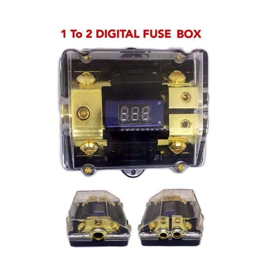 Features 1 In 2 Out Digital Fuse Box Dan Harga Terbaru Info Chocolate Holder High Performance Circuit Display To Car Audio System