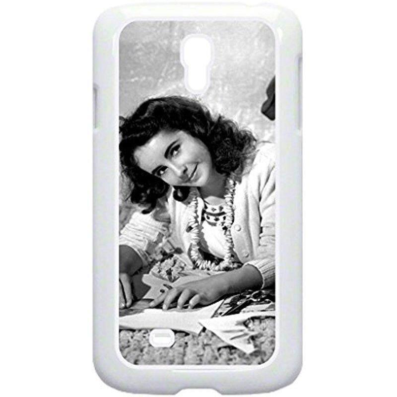 Baru Elizabeth Taylor-TM Plastik Putih Keras Case untuk Samsung Galaksi S4 Dibuat Di Amerika Serikat-Internasional