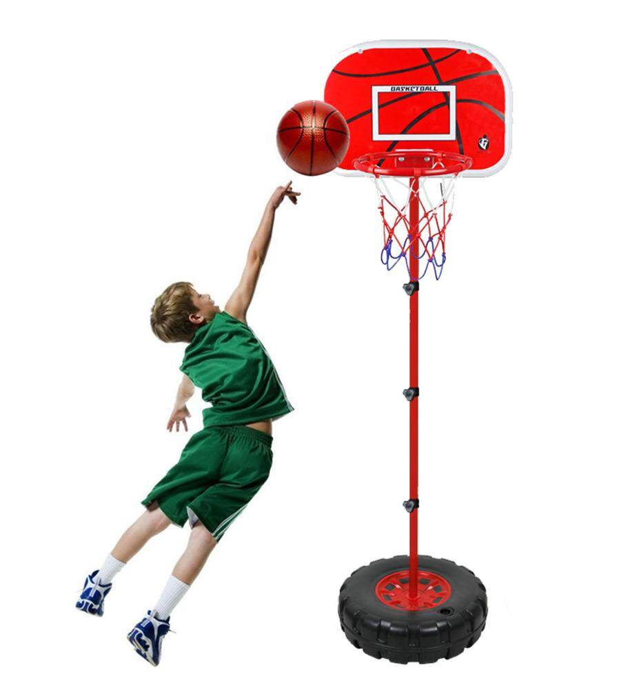 Kobwa Childrens Height Adjustable Portable Basketball System - 1.7m - Intl By Kobwa Direct.