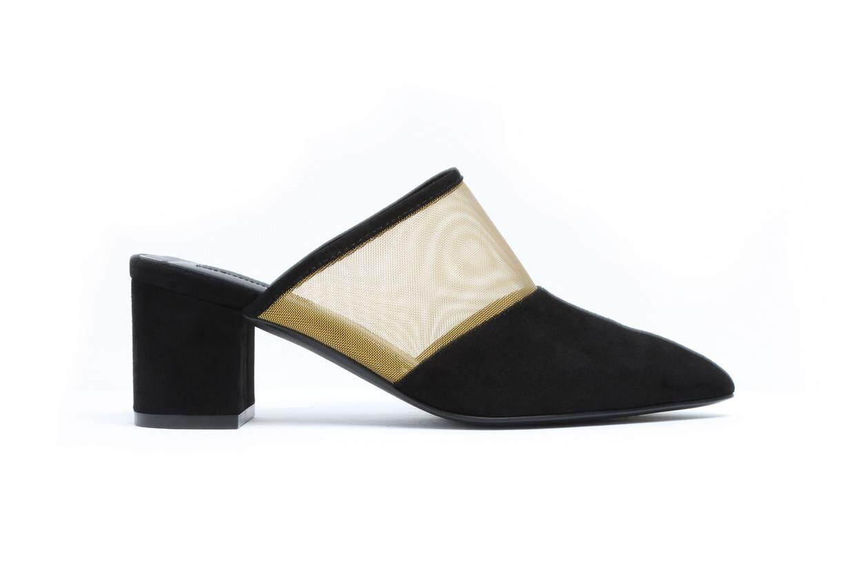 Black Guaze Sandals