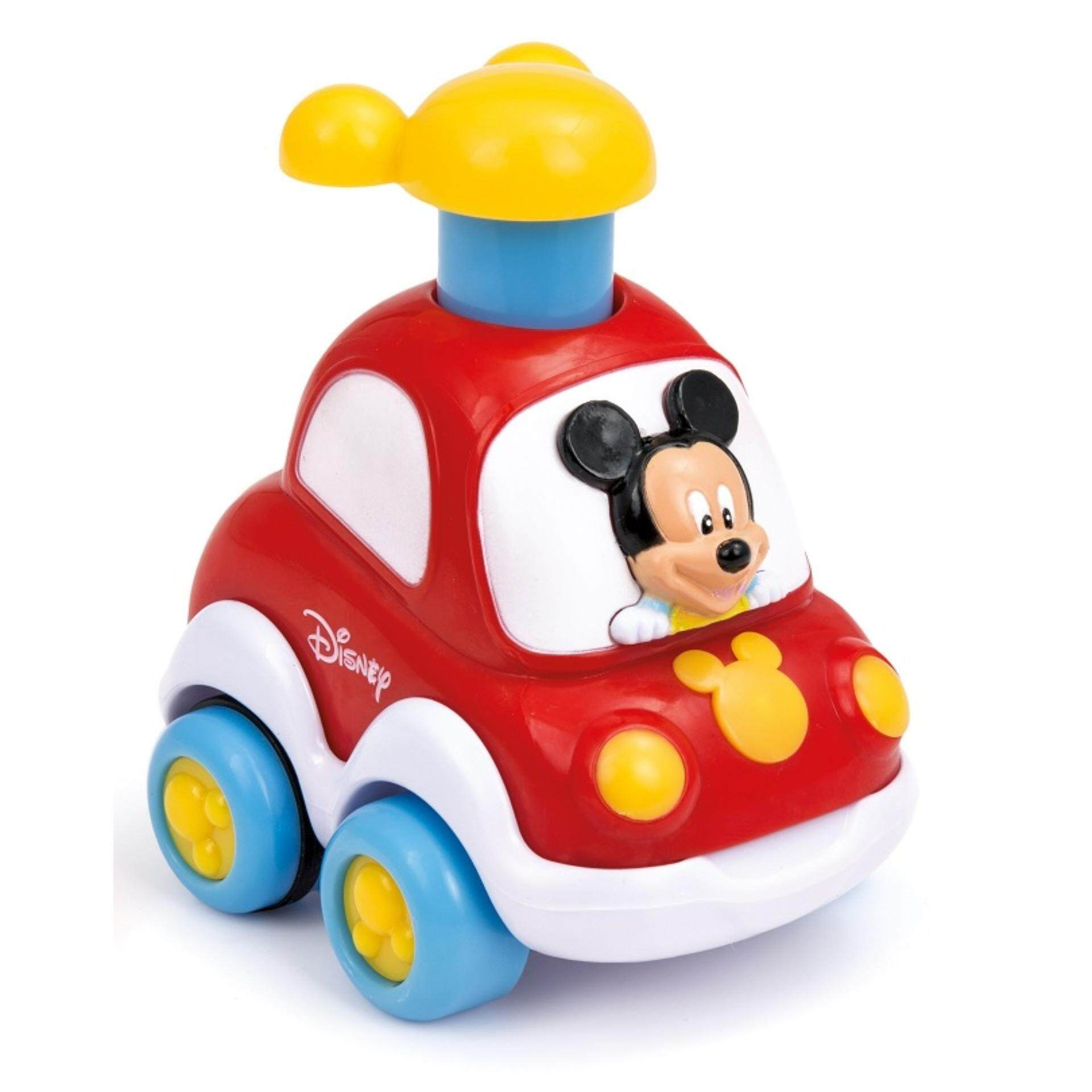 Disney Baby Press & Go Cars Toys - Mickey baby toys