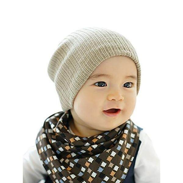 Zando Lembut Lucu Rajut Bayi Beanies untuk Anak Perempuan Katun Polos Tengkorak Bayi Topi Balita Balita