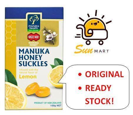 Manuka Honey Lemon Drops MGO400+ 15s