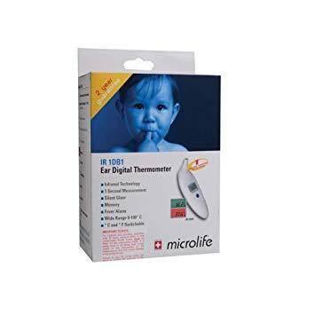 Microlife Ear Digital Thermometer (IR 1DB1)