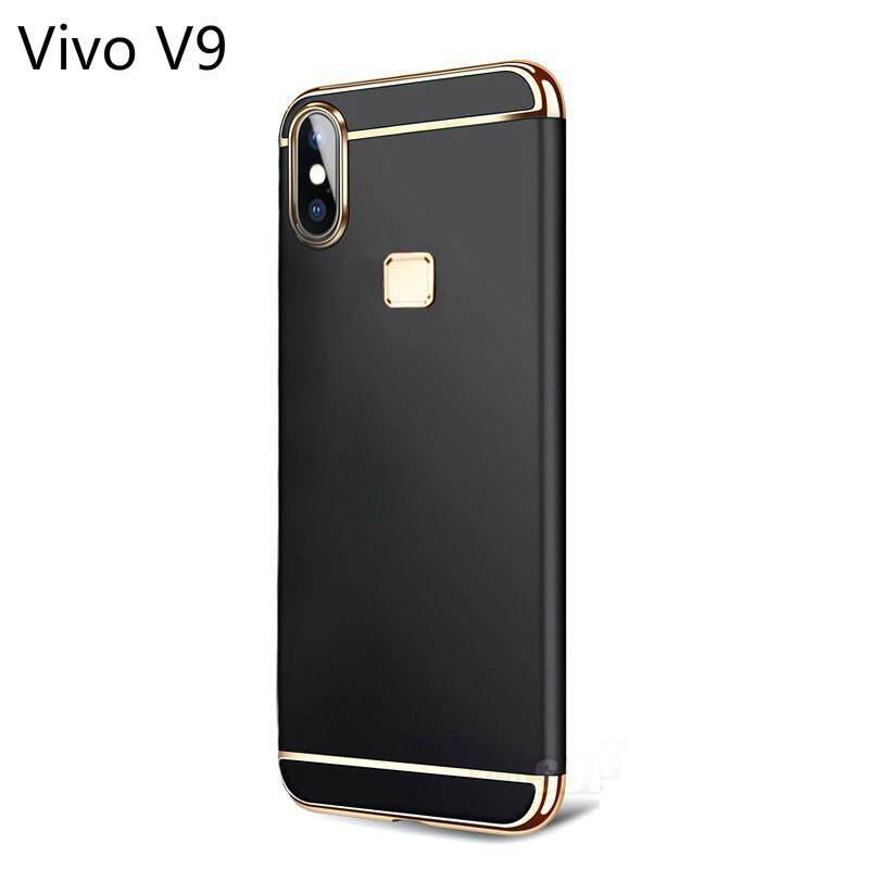 Vivo V9 Mewah Menyepuh Dgn Listrik Shockproof Kembali Casing Kover untuk Vivo V9 Case Keras Rumahan