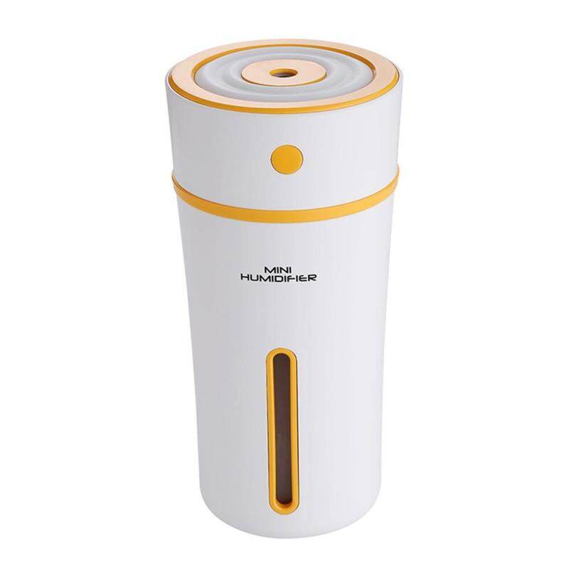 leegoal Cup Humidifier USB Night Light Humidifier Large Capacity Desktop Home Office Humidifier(Orange) Singapore