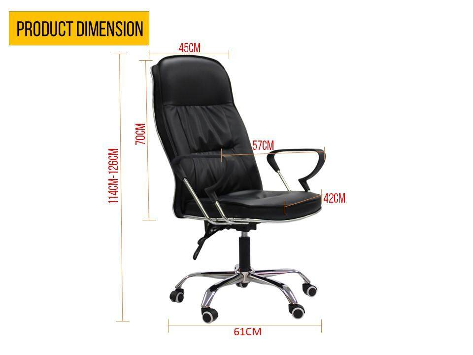 muji office chair. Specifications Of PU Leather Luxury Director Office Chair [Black] With FREE MUJI Neck Cushion (Randomly Choose) Muji A