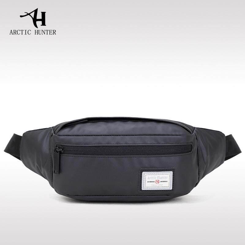f0727e1ff ARCTIC HUNTER Men Waist Packs Oxford Waterproof Material Crossbody Bag