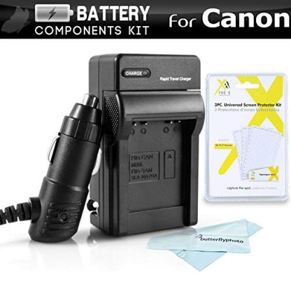 Charger Kit For Canon Powershot ELPH 180, ELPH 190 IS, A2500, ELPH 150 IS, ELPH 170 IS, ELPH 160, SX400 IS, SX410 IS, SX420 IS, ELPH 340 HS, ELPH 350 HS, ELPH 360 HS Charger For Canon NB-11L - intl
