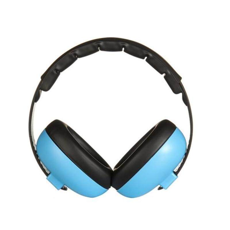 Baby Infant Hearing Protection Earmuff Noise Reduction Ear Muffs for 0-24 Months Baby (Blue)