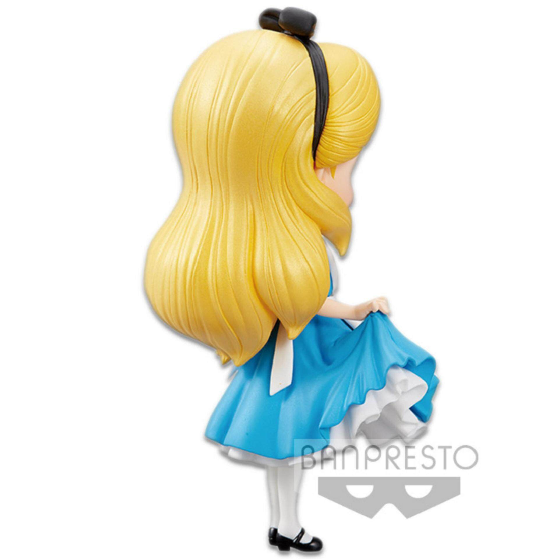 Banpresto Q Posket Disney Princess Figure Normal Version - Alice Toys for boys