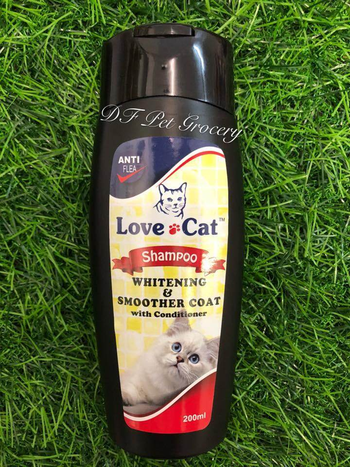 Love cat Shampoo Whitening & Smoother Coat With Conditioner 200ml - Cat Shampoo