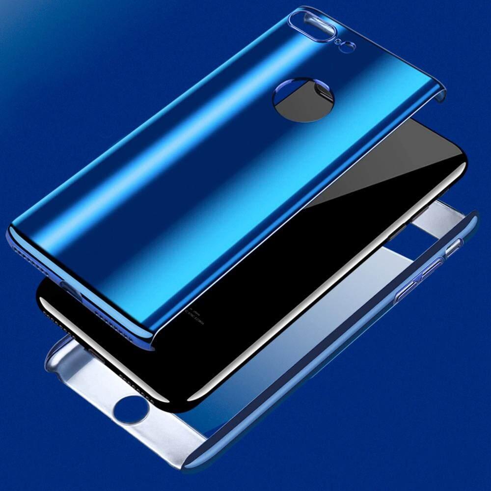 Gambar Produk Rinci Hai Case untuk iPhone 5/5 S/SE Case Anti Guncangan Buah Keras Belakang Ramping Pelapisan Bersinar Sarung 2 dalam 1 Cakupan Penuh ...