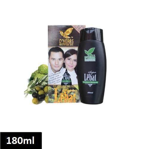 Dherbs Super Lebat Herbs Shampoo 180ml