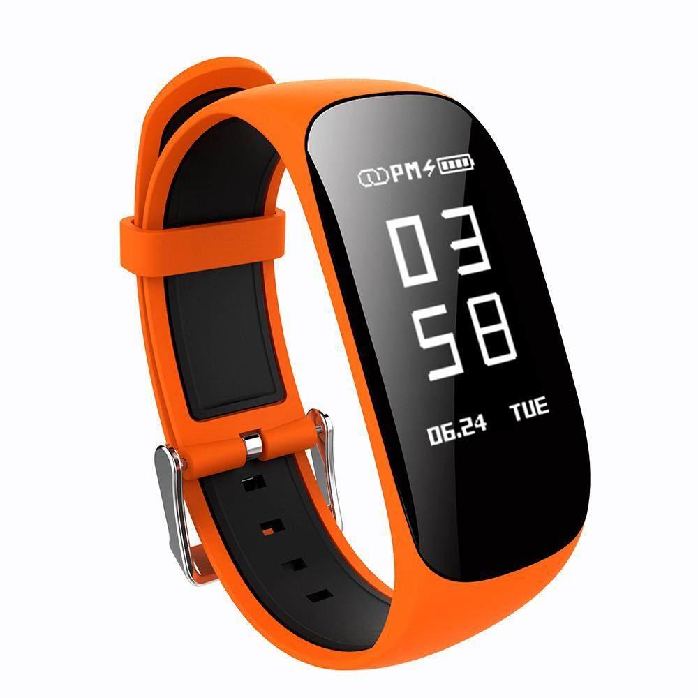 Yooc Pintar Gelang Jantung Kecepatan Monitor Olahraga Kebugaran Pelacak Alat Pengukur Langkah Tidur Jam Tangan Z17 Menghitung Kalori Jam Tangan-Ungu-Internasional