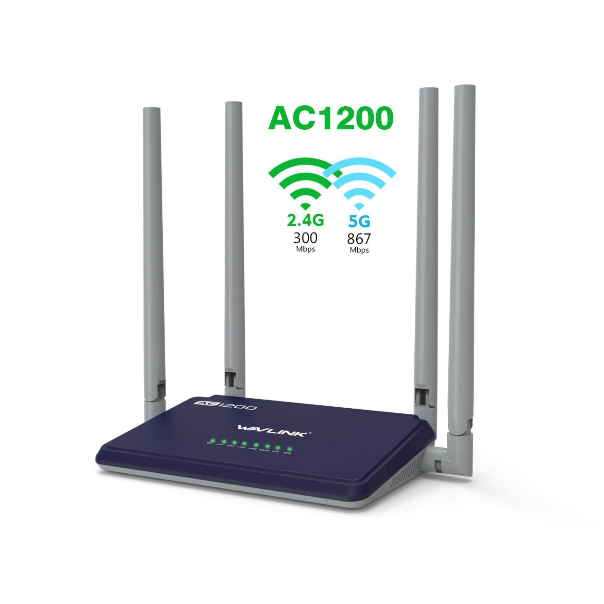 Features Totolink A3002ru Ac1200 Wireless Dual Band 2 4ghz 5ghz Asus Rt Ac55uhp High Power Router Ac 1200 Mbps Wavlink Smart With 4 External Antennas Wps Button