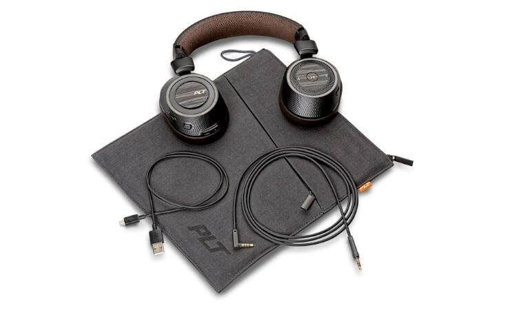 Original Plantronics BackBeat PRO 2 - Wireless for travel and work Over-the-Headphones BLACK/TAN