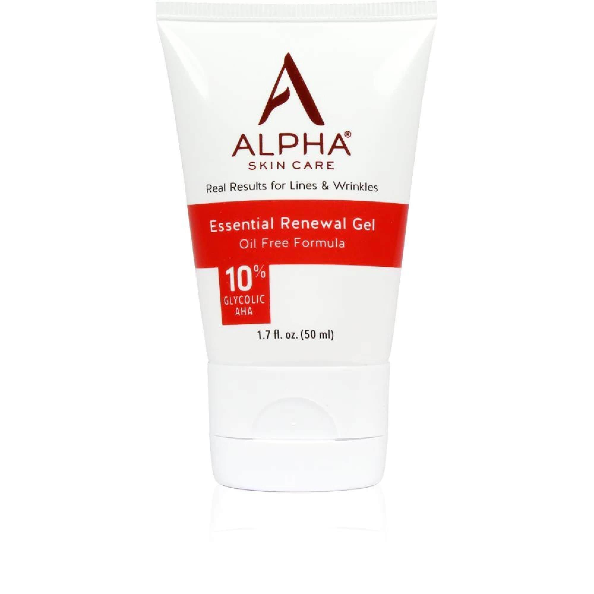 Alpha Skin Care Essential Renewal Gel with 10% AHA