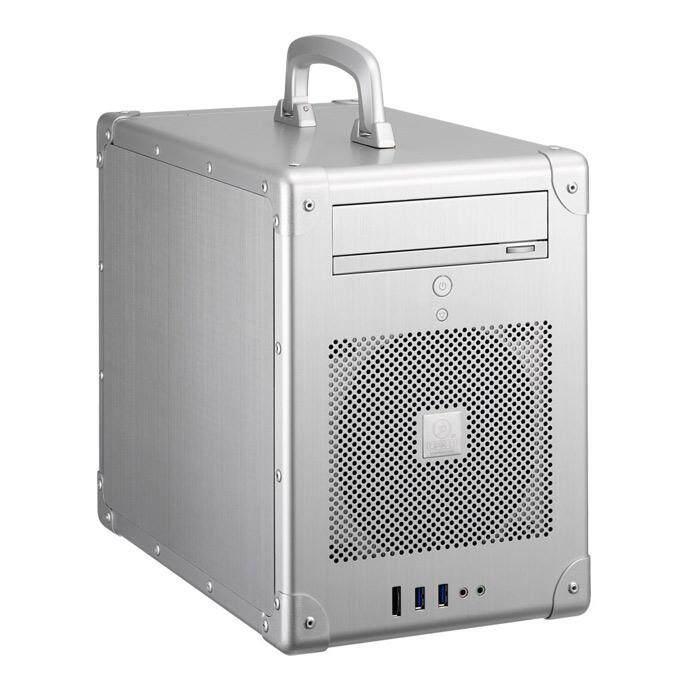 Lian Li PC-TU200A Mini Tower ITX Case - Silver Malaysia