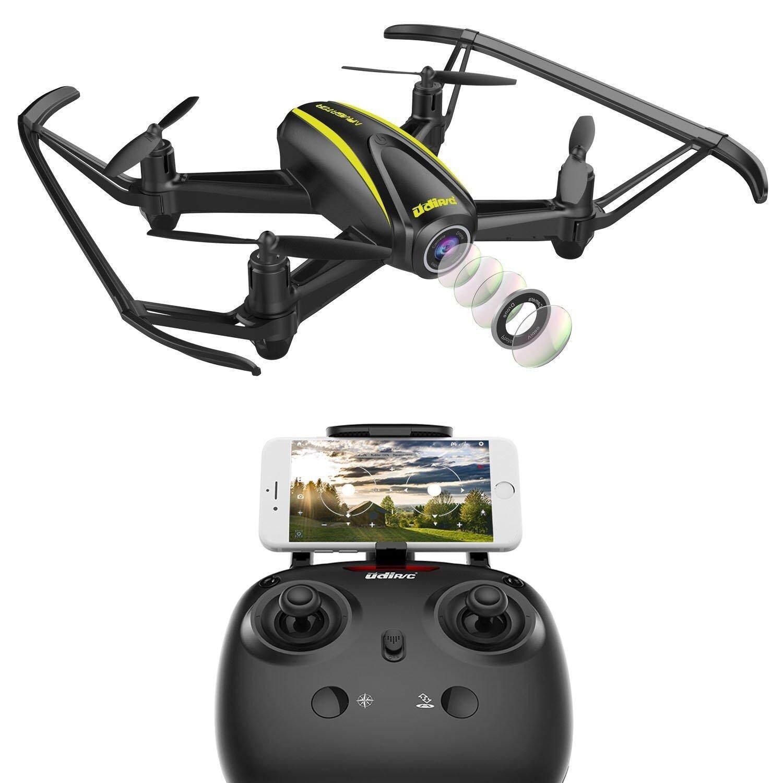 Redcolourful UDI U31W Navigator Drone FPV untuk Pemula dengan 2MP HD Kamera Wi-fi RC Quadcoptersss dengan Ketinggian Terus dan Headless Modus