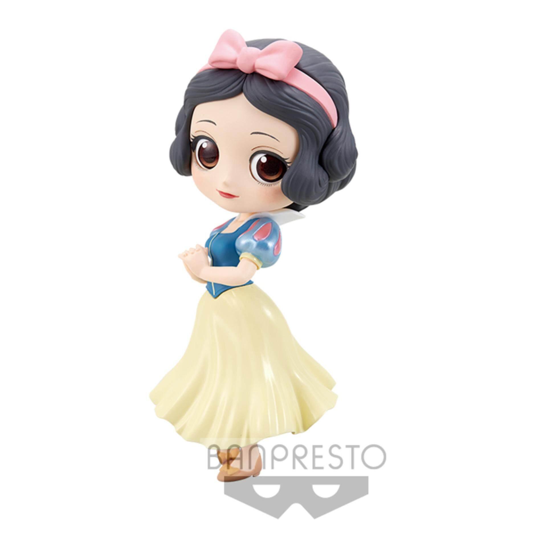 Banpresto Q Posket Disney Princess Figure Pastel Version - Snow White Toys for boys