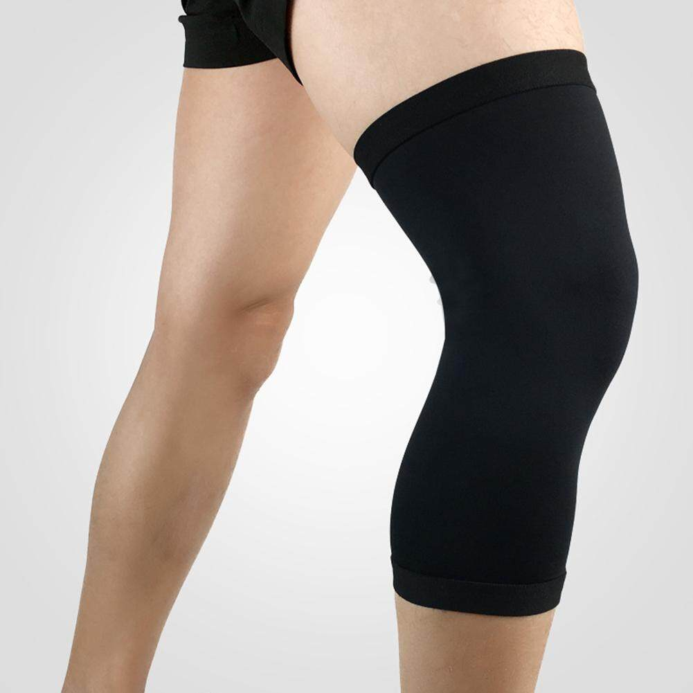 Features Broadfashion Sports Compression Knee Pad Support Guard Leg Sleeve Kneepad Brace Protector Breathable L Black