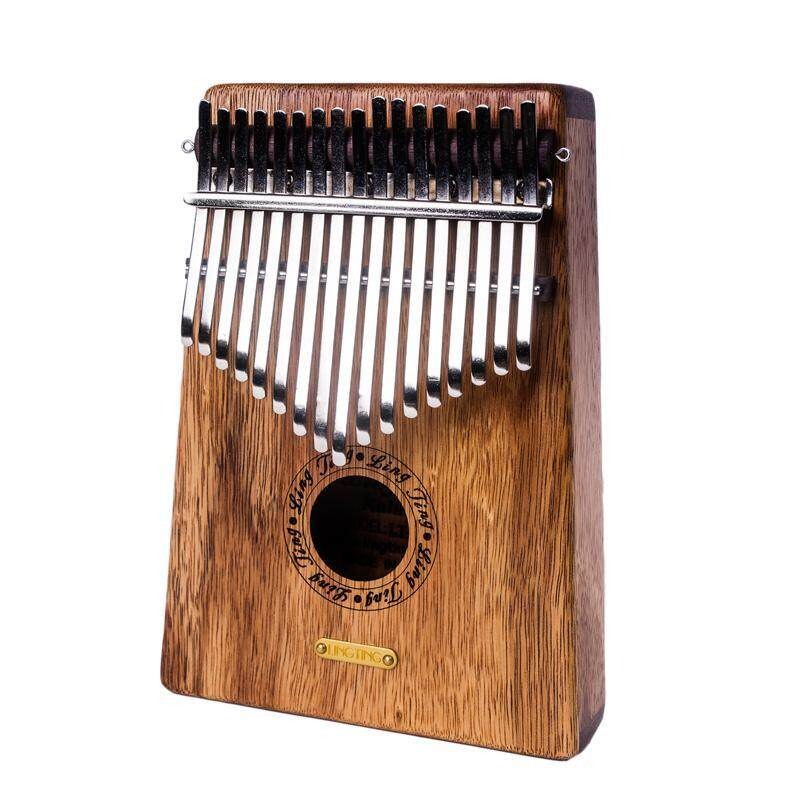 17 Keys Paorosa Wood Finger Mbira Kalimba Keyboard Thumb Pocket Pian LTK17S Without pickup