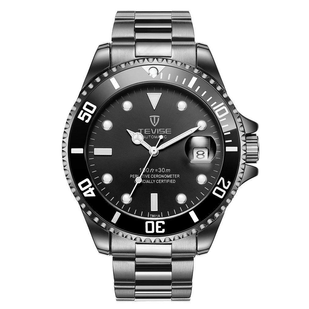 Where To Buy Tevise T801 Men Automatic Mechanical Watch Fashion Waterproof Luminous Watch