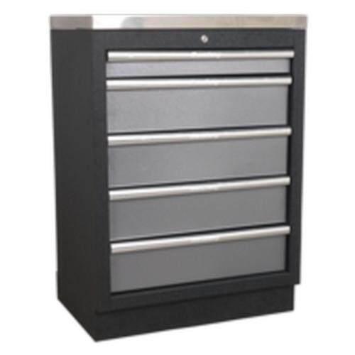 (Pre-order) Sealey Modular 5 Drawer Cabinet 680mm