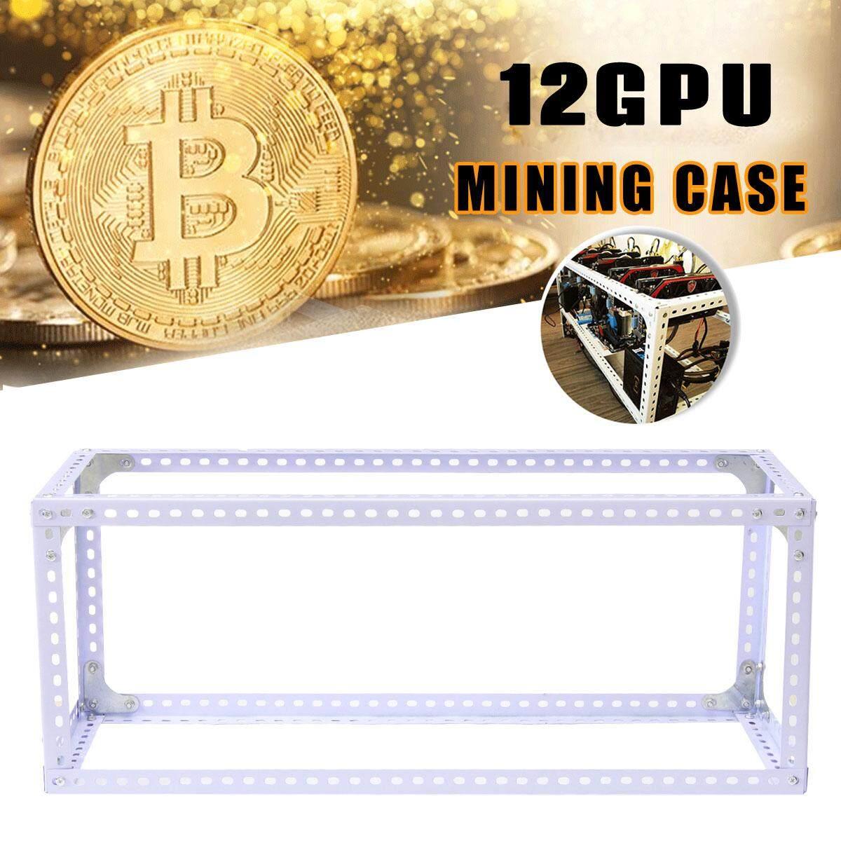 Hình ảnh 70*25*120 Mining Frame Case Set Stackable Design White - intl