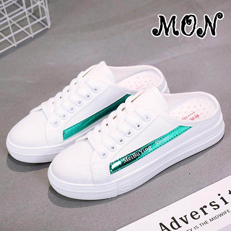Sale Mon Fashion Women Casual Shoes Female Sneakers Platform White Shoes Slippers Mon Wholesaler