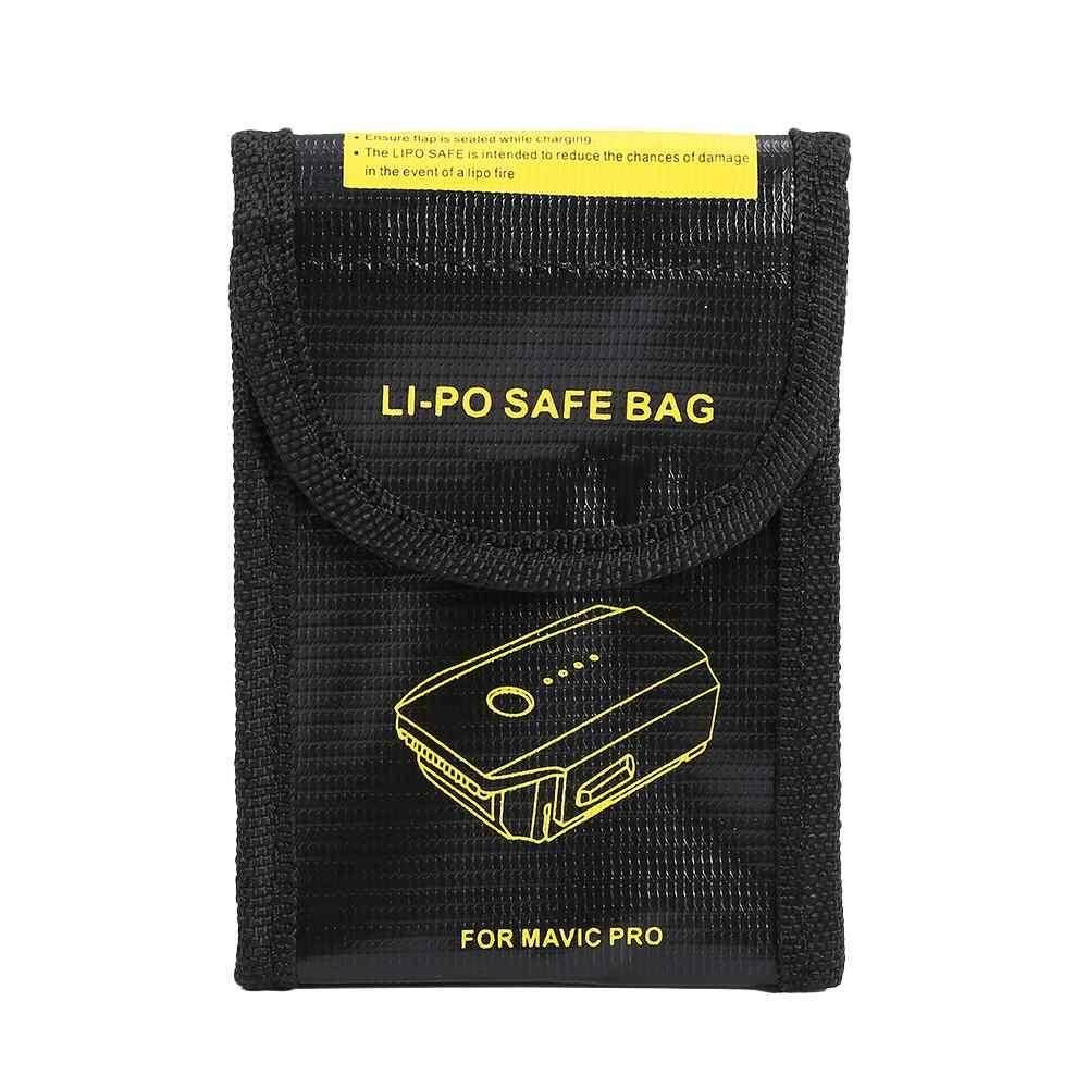 แบตเตอรี่ระเบิดถุงทนไฟ Fit ปิดป้องกัน Dji Mavic Pro กระเป๋ากันรอยปลอดภัย Lipo - Intl By Bsex.