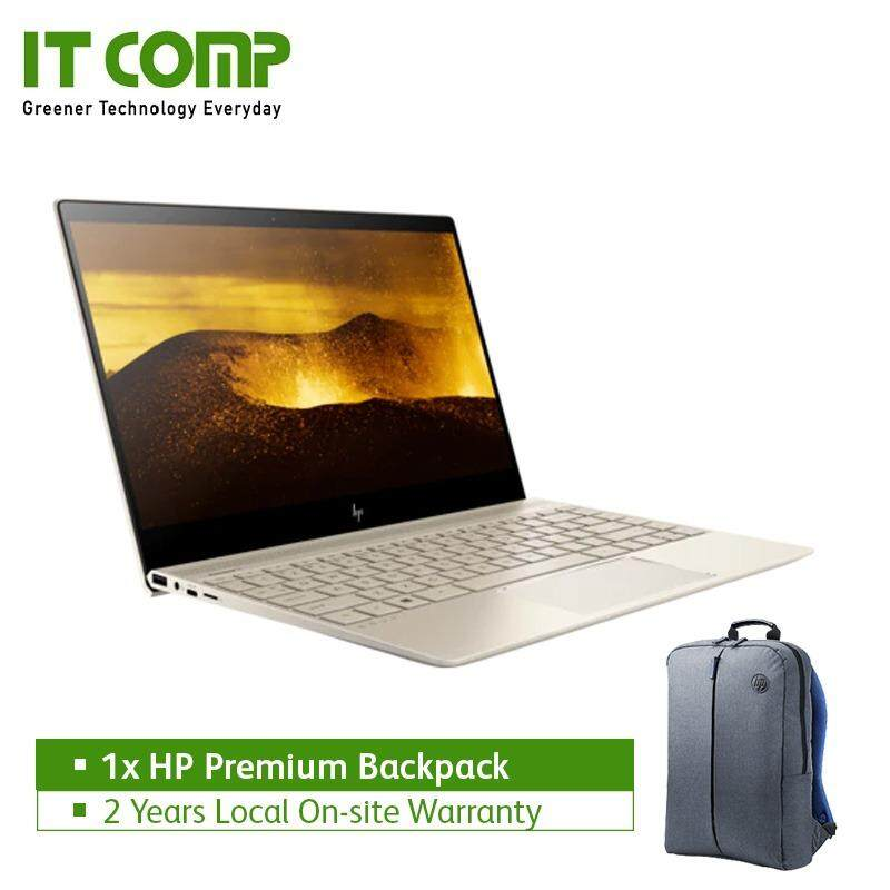 HP ENVY 13-ad102tu 13.3 Gold (i5-8250U/8GB/256GB SSD/W10H) + Free HP Premium Backpack Malaysia