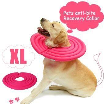 Pencarian Termurah Pelindung Anjing Kerah Elizabeth Anjing Kucing Pemulihan Hewan Peliharaan Lembut E-Collar Adjustable