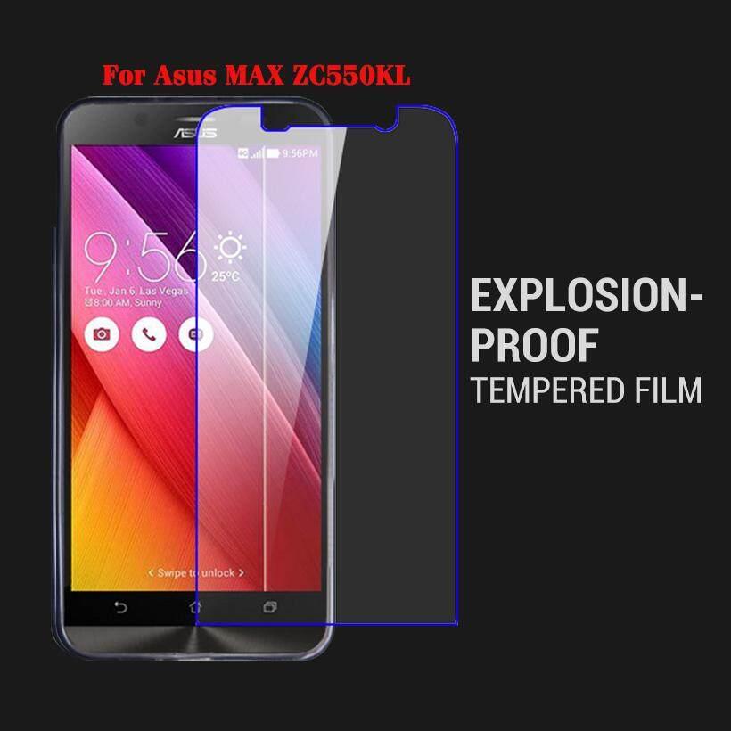 Akabeila 2 Kaca Tempa Pcs untuk ASUS Zenfone MAX ASUS _ Z010DD Z010D ZC550KL Z010DA 5.5 Ponsel Cerdas Inci Pelindung Layar Film