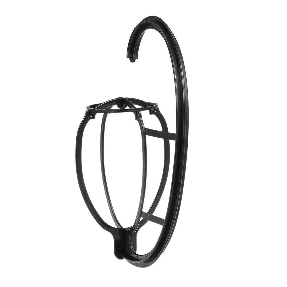 Portable Hanging Wig Stand Plastic DIY Hats Hanger Detachable Long & Short Wigs Display Dryer Holder