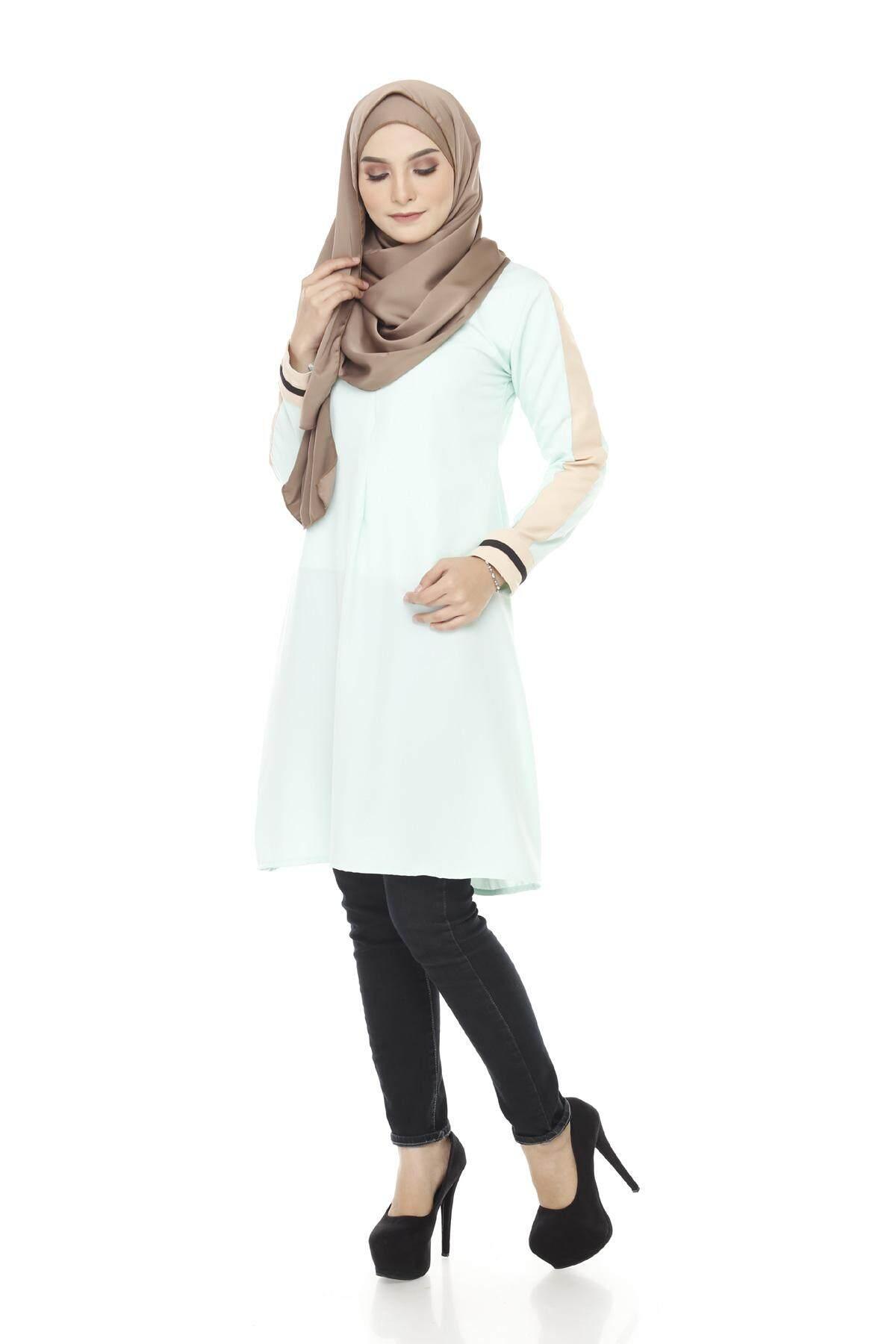 Frazi Blouse / Muslimah Blouse / Muslim Women Blouse / Fashion Blouse / Knee Length Blouse (S-XL)