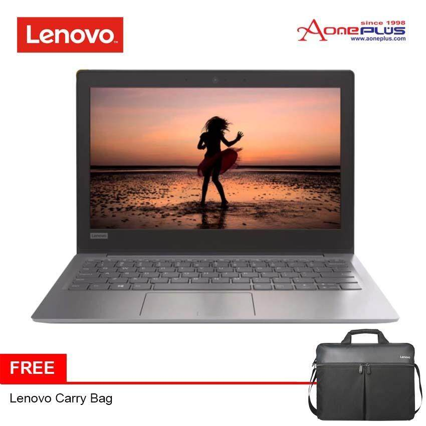 Lenovo Ideapad 120S-14IAP 81A5009LMJ (Grey) N4200/128GB SSD/14.0 Laptop + Free Carry Bag Malaysia