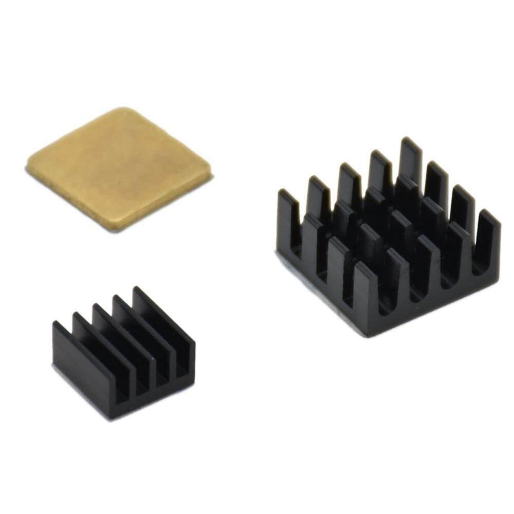 Buy Sell Cheapest Heatsink 25x16x10mm Aluminum Best Quality 10 X 10mm Aluminium Radiator Cooling Pendingin Heat Sink 3 Pcs Untuk Raspberry Pi 2 Perekat Tembaga Perlengkapan Internasional