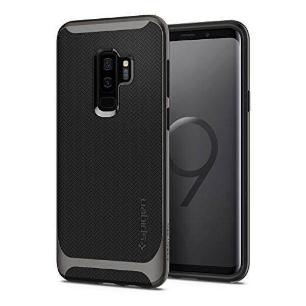 Spigen Neo Hibrida Galaksi S9 Plus Case dengan Fleksibel Pola Herringbone Perlindungan dan Reinforced Keras Bemper Bingkai untuk Samsung Galaksi s9 Plus (2018) -Logam-Internasional