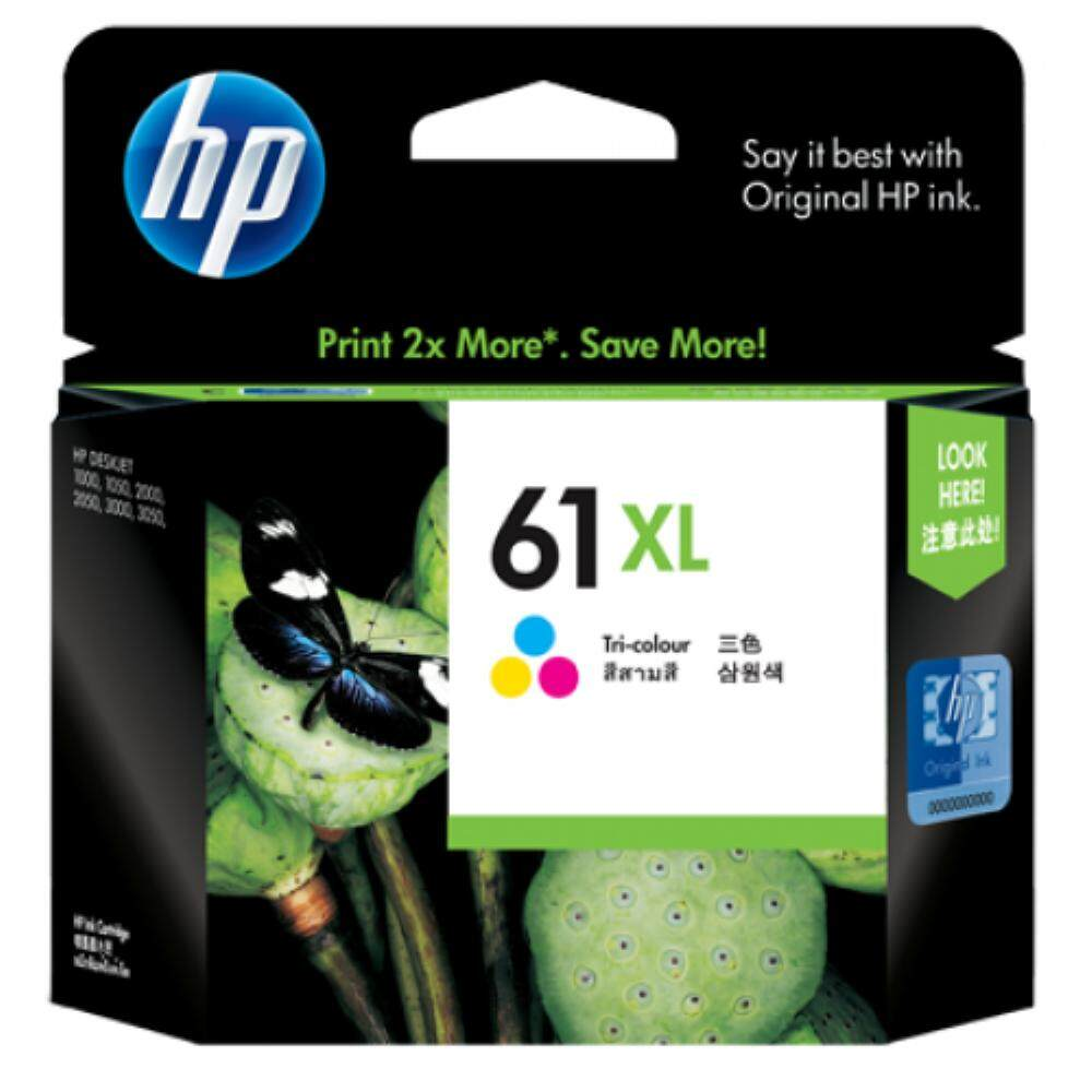HP 61XL Tri-color Ink Cartridge (CH564WA)