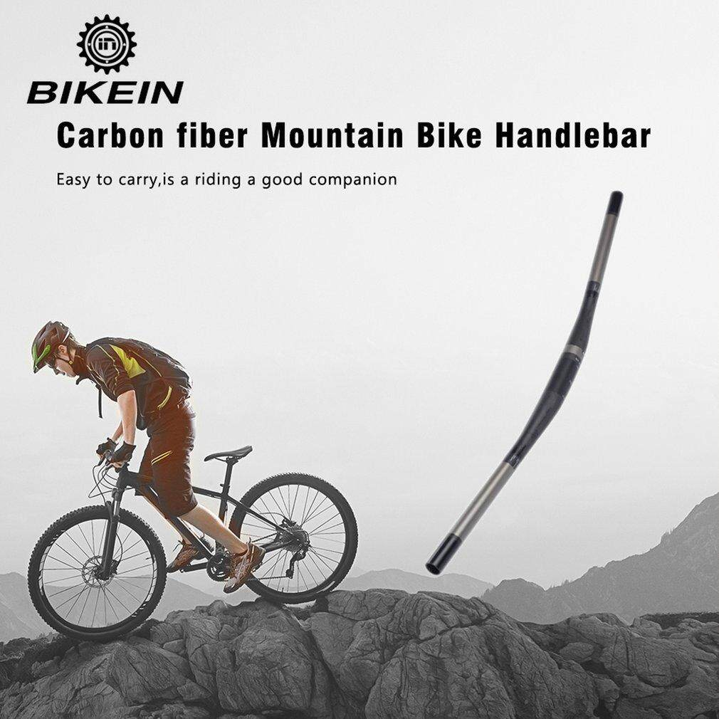 Bikein P35MH Datar Karbon Serat Stang Ultralight Gunung Sepeda Setang- Internasional