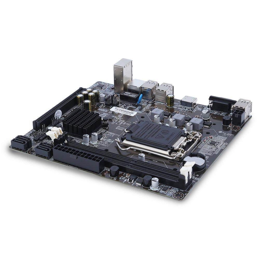 Uinn H81-1150 Komputer Gigabit Ethernet Mainboard Dukungan Motherboard LGA 1150-Internasional