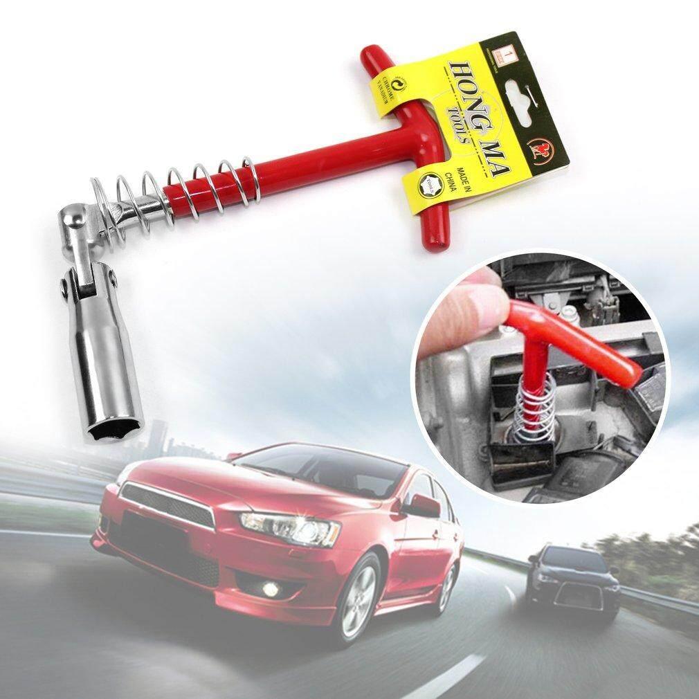 Bgd สีดำ T - Handle จุดประกายซ็อกเก็ตประเภทประแจหัวเทียน 360 องศาหมุน Auto ซ่อมแซมเครื่องมือสีแดง 21 กก..