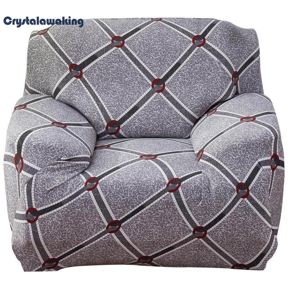 Elastic Thin Sofa Covers Furniture Protector Polyester Couch Towel Case (Single seat) - intl